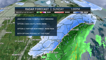 FIRST ALERT: Quiet Start, Active End to Week With Wintry Mix