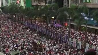 Massive Protests in Hong Kong as Demonstrators Fear Proposed Extraditions