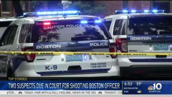 Men Accused of Shooting Boston Cop Head to Court