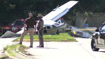 Crash Surprise: Plane Slams Into Traffic