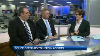 Police Offer Aid to Heroin Addicts