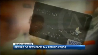 Beware of Tax Refund Cards