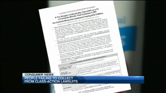 People Failing to Collect From Class-Action Lawsuits