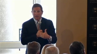 CEO Mark Hurd of Oracle Corporation
