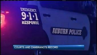 Jorge Zambrano's Criminal Record