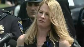 Widow of Slain Auburn, Massachusetts, Police Officer Speaks