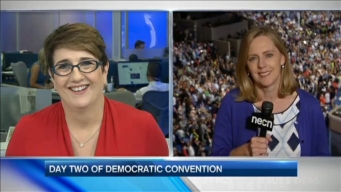 Day 2 of the Democratic Convention