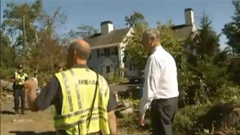 Cleanup Continues in Concord from EF1 Tornado