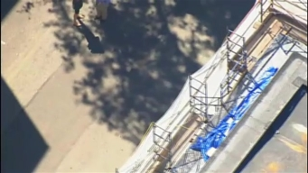 Worker Injured After Falling from Scaffolding in Boston