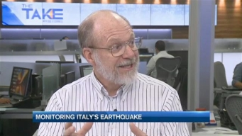 Monitoring Italy's Earthquake