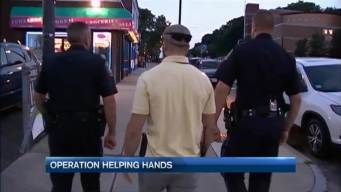 Boston Police Patrol Streets Via 'Operation Helping Hands'
