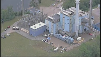 Taunton Fire Department Responds to Explosion at Power Plant