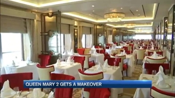 Queen Mary II Gets Makeover