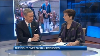 The Fight Over Syrian Refugees