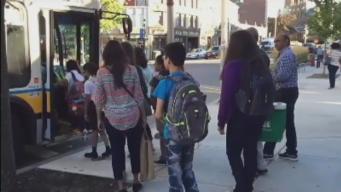 Malden Students Use Public Transportant to Get to School