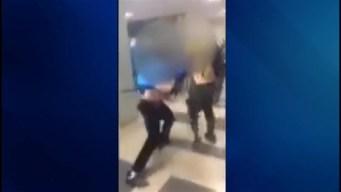 RAW VIDEO: High School Fight Caught on Camera