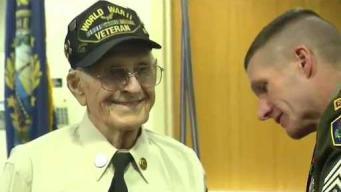 New Hampshire WWII Veteran Receives Purple Heart