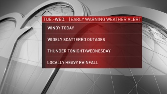 Stormy Weather Rolling Through Region