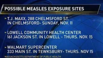 Officials Warn of Possible Measles Exposure Sites