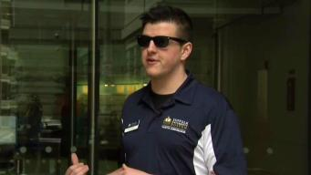 Passionate College Tour Guide Gets Hired