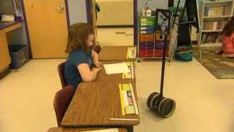 4th Grader With Cancer Uses Robot to Attend Class