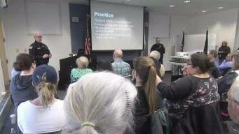 Police Teach Community What to Do in Active Shooter Event