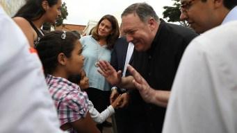 US Secretary of State Visits Venezuelan Migrants in Colombia