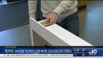 Report Says Amazon Will Open More Cashierless Stores