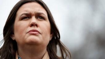 Sarah Sanders Defends Evidence-Free Claim About FBI, Comey
