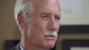 Sen. Angus King Gets Behind Push for Cannabis for Veterans