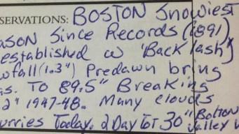 Tim Kelley Logs 3 Record-Breakers