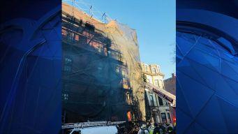 2 Firefighters Injured Battling South End Blaze
