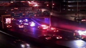 Conn. State Trooper Injured in Crash on I-84 in Hartford