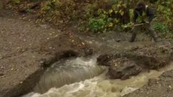 Heavy Rain Causes Scattered Vt. Road Damage, Closures