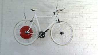 Company Creates Power-Boosted Wheel for Bike