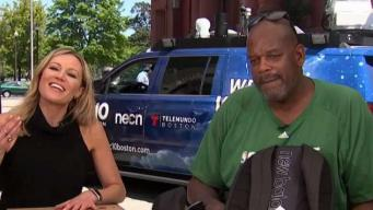 Celtics Cedric Maxwell Helps Support Our Schools