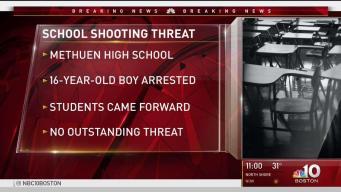 Teen Accused of Threat at Methuen High School
