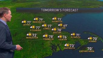 2 Disturbances Affecting New England on First Day of Summer