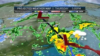Line of Showers to March Across Parts of New England