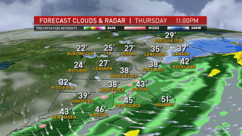 FIRST ALERT: Parts of New England to See Scattered Rain, Snow