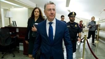 US Envoy Used WH Visit to Pressure Ukraine on Bidens: Texts