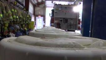 Fire Departments Get Help Ditching Toxic Foam