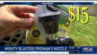Does it Work: Mighty Blaster Fireman's Nozzle
