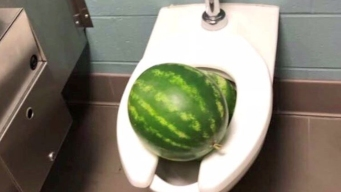Students Disciplined After Watermelon Prank Clogs Toilets