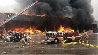 Massive Fire Devours Connecticut Waste Facility