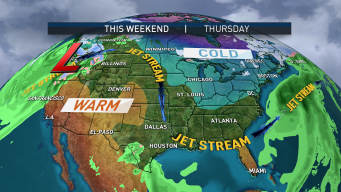 Jet Stream to Carry Warmth to New England for Weekend