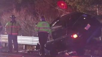 State Police: Woman Dies in Rollover Crash in Walpole