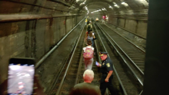 'Underground Parade': T Trains Evacuated Due to Power Issue