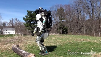 Boston Dynamics' Atlas Robot Goes for a Run in the Suburbs