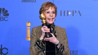 Carol Burnett Gets Inaugural Globes Prize for TV Achievement